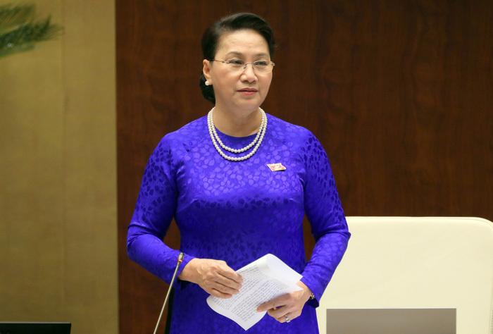 Chủ tịch Quốc hội kêu gọi đồng bào bình tĩnh, tin tưởng các dự án luật