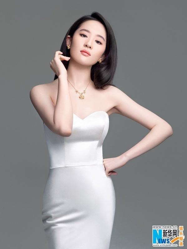 mỹ nhân Hoa ngữ, vóc dáng không chút mỡ thừa