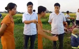 Hưng Yên: Máy gặt xuống đồng phải đóng 1 triệu đồng tiền cọc