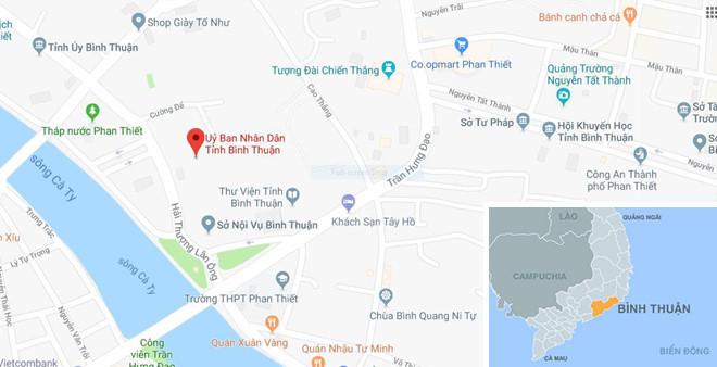 Quốc lộ 1 qua Bình Thuận lại bị người quá khích chặn
