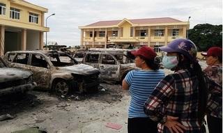 Nhóm người quá khích gây thiệt hại hàng chục tỷ đồng cho Bình Thuận
