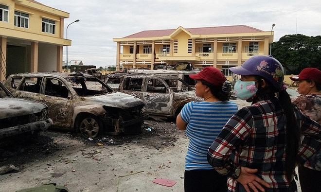 Nhóm người quá khích gây thiệt hại chục tỷ đồng cho Bình Thuận