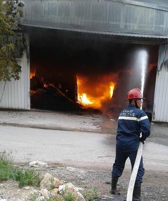 Hải Phòng: Nhà xưởng bốc cháy ngùn ngụt lúc sáng sớm4