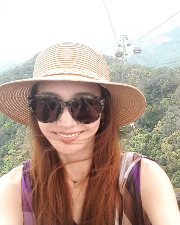 Mỹ nhân 'Vườn sao băng' Han Chae Young tới Đà Nẵng du lịch