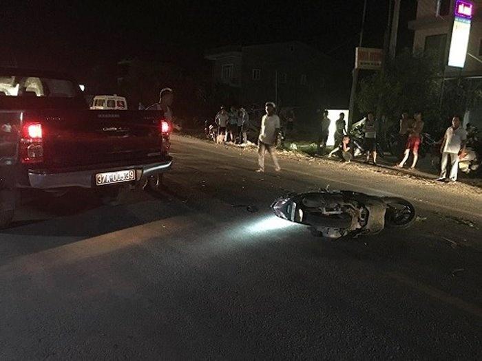 Xe biển xanh va chạm khiến 1 thanh niên tử vong là của lực lượng Cảnh sát PCCC