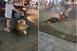 Vụ đánh ghen lột đồ, tưới nước mắm lên người cô gái ở Thanh Hóa: Công an triệu tập nhóm người hành hung