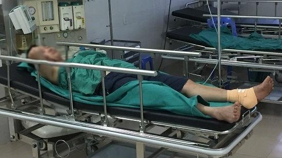 Hải Dương: Khởi tố vụ phụ xe khách bị hành hung, cắt gân chân