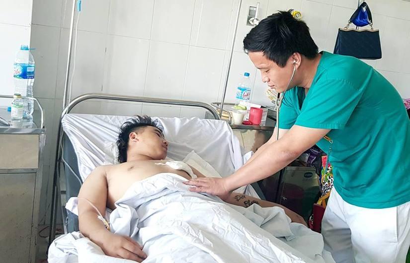 Cứu sống bệnh nhân bị đâm thấu tim, ngừng tim ở Nghệ An