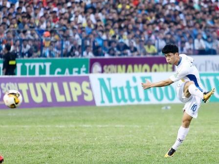 CLB HAGL có trận đấu ấn tượng trước Quảng Nam