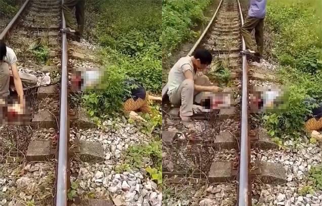 Đi bộ sang đường, người đàn ông va chạm với tàu hỏa bị đứt lìa đầu