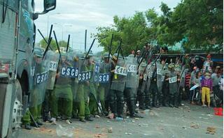 Vụ gây rối ở Bình Thuận: Công an thả 191 người, tạm giữ 17 nghi can
