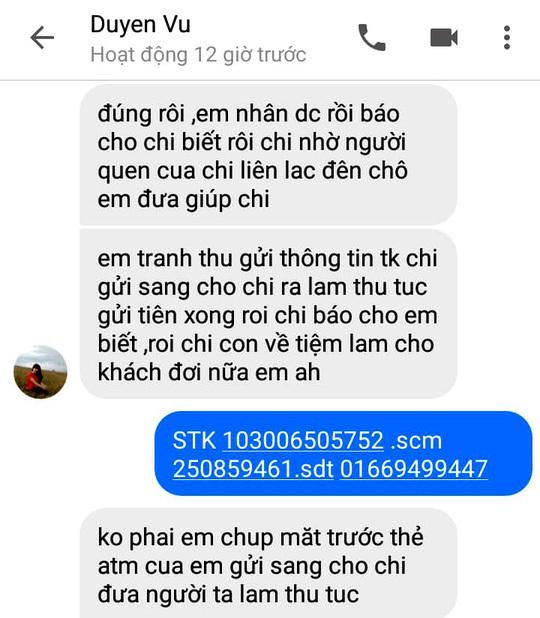 Nói chuyện qua facebook, một phụ nữ bị rút sạch tiền trong ATM