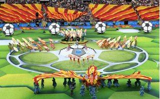 Khai mạc World Cup 2018 đầy ấn tượng, mang đậm văn hóa xứ sở bạch dương
