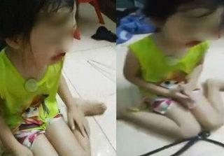 Phẫn nộ mẹ livestream mắng chửi, tát con gái chảy máu mũi lúc 2h sáng