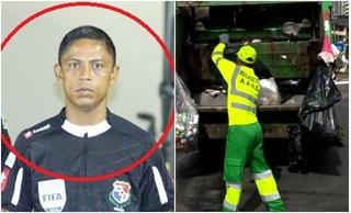 Trọng tài World Cup với nghề chính là công nhân thu gom rác