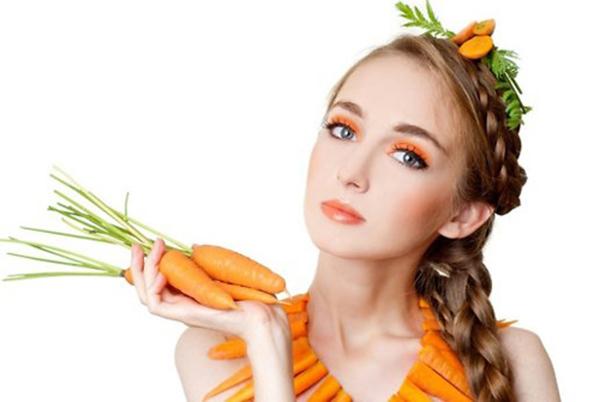 Bí quyết làm đẹp da mịn màng, căng bóng và tươi trẻ từ cà rốt2