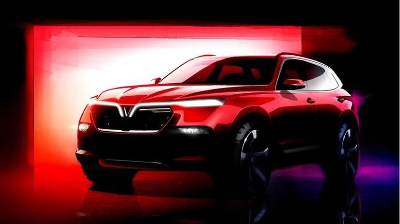 Video cận cảnh chi tiết hai mẫu xe mới được cho là của Vinfast