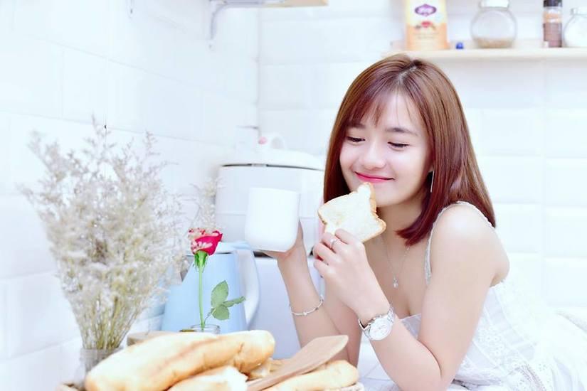Hot girl Võ Ê Vo khoe vẻ đẹp trong veo đón chào tuổi mới11