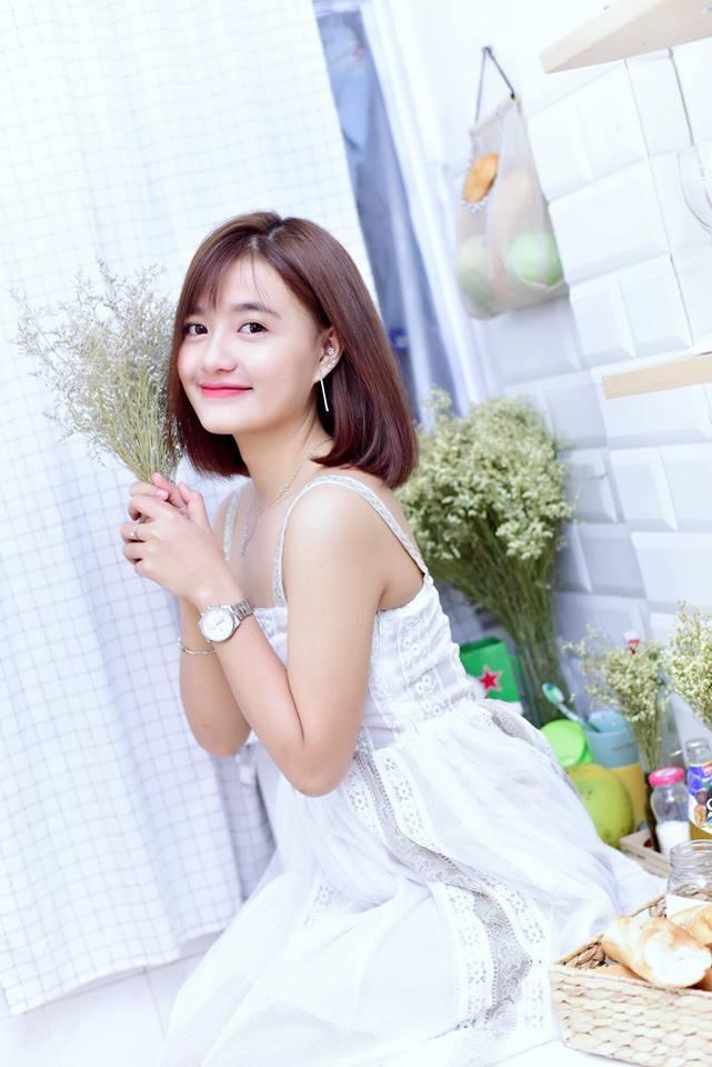 Hot girl Võ Ê Vo khoe vẻ đẹp trong veo đón chào tuổi mới1