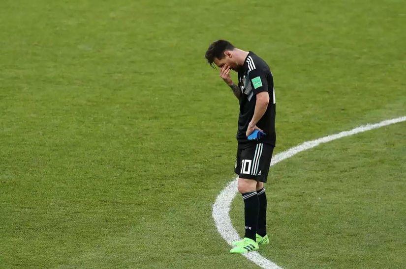 Tiền đạo Messi đã thể hiện một phong độ hết sức nhạt nhòa