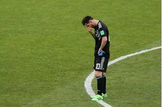Tiền đạo Messi lập kỷ lục đáng quên ở World Cup 2018
