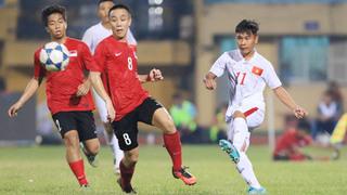 U19 Việt Nam giành chiến thắng ấn tượng tại Trung Quốc