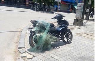 Cảnh sát Thanh Hóa bắn lưới bắt người vi phạm giao thông mang theo súng