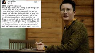 Hoàng Bách bức xúc vì để hot girl bình luận bóng đá trên VTV