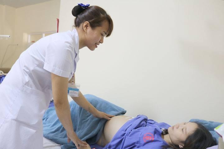 Phẫu thuật nội soi cắt ruột thừa cho sản phụ mang thai 37 tuần 2