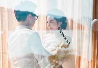 Á hậu Tú Anh tung ảnh cưới, xác nhận kết hôn vào ngày 21/7