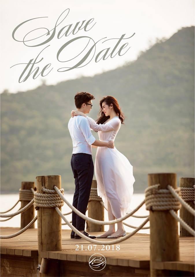 Tú Anh tung ảnh cưới và xác nhận cưới vào ngày 21/7