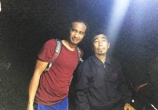 Ngư dân cứu du khách Philippines bị lạc trong rừng Sơn Trà