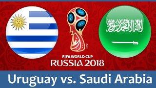 Dự đoán kết quả tỷ số World Cup 2018 giữa đội tuyển Uruguay và Saudi Arabia