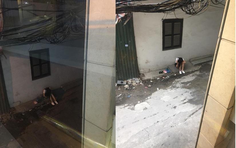 Cô gái mang bia cho người yêu xem bóng đá bị bỏ bom đến sáng