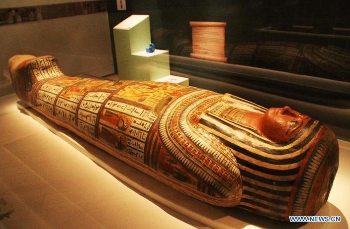 Hé mở quy trình ướp xác độc đáo của người Ai Cập cổ đại