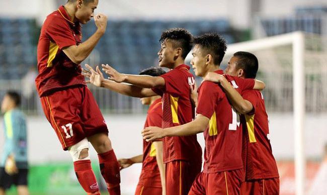 U19 Việt Nam đã có trận đấu giao hữu thứ hai trong chuyến tập huấn