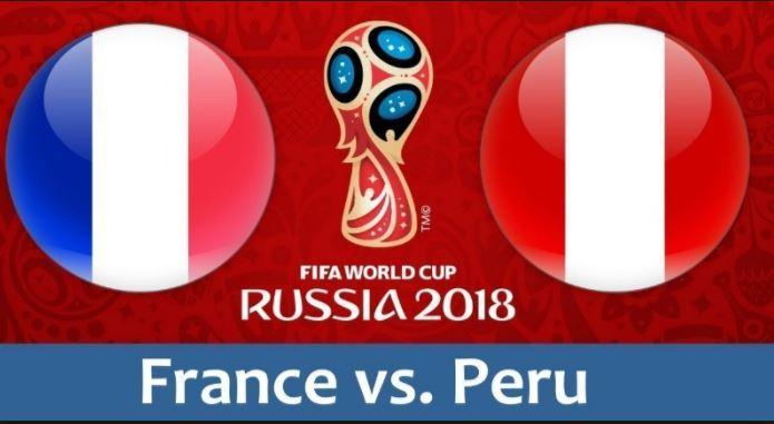 Dự đoán kết quả tỷ số World Cup 2018 giữa đội tuyển Pháp và Peru