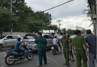 Tạm giữ 1 nghi can trong vụ nổ trụ sở công an phường