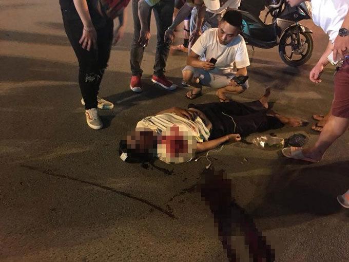 Hà Nội: Vượt đèn đỏ gây tai nạn khiến 1 người nguy kịch2