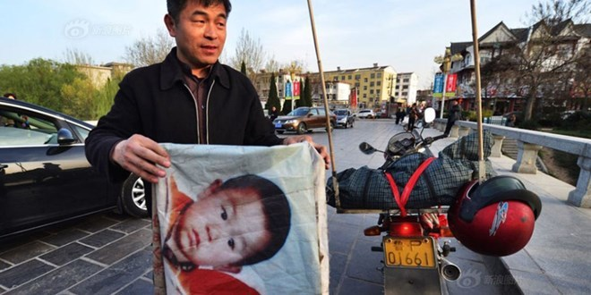 Ông bố dùng 21 năm cuộc đời rong ruổi hàng trăm nghìn cây số tìm con
