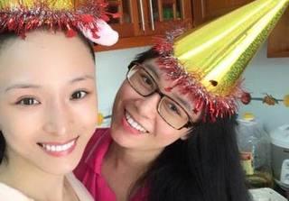 Hoa hậu Trương Hồ Phương Nga hạnh phúc chúc mừng sinh nhật Thùy Dung