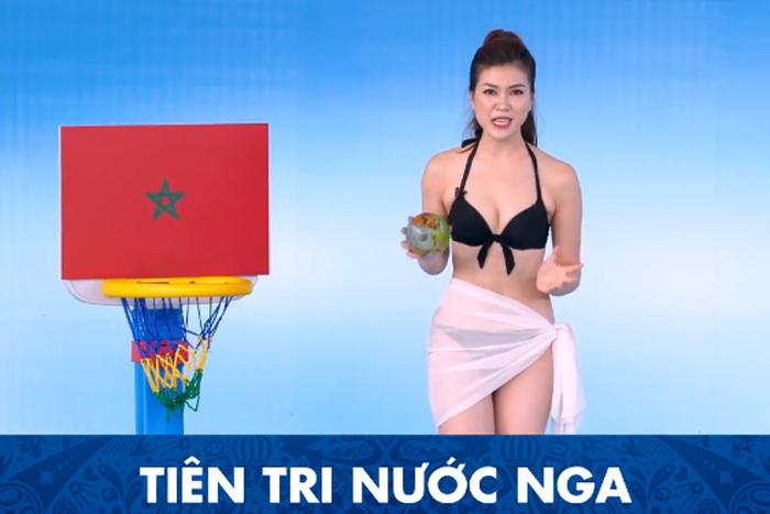 MC mặc bikini dẫn World Cup trên kênh truyền hình Việt Nam
