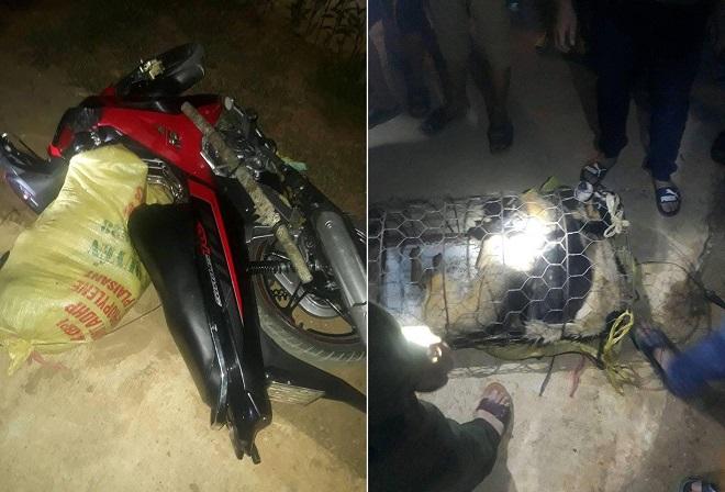 Hai đối tượng cầm kiếm đi trộm chó bị dân đánh trọng thương