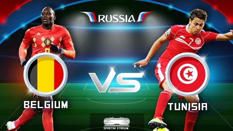 Dự đoán kết quả tỷ số World Cup 2018 giữa đội tuyển Bỉ và Tunisia