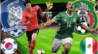 Dự đoán kết quả tỷ số World Cup 2018 giữa đội tuyển Hàn Quốc và Mexico