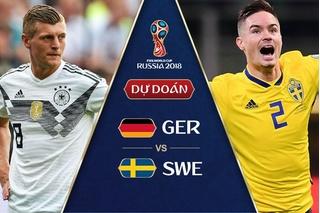 Dự đoán kết quả tỷ số World Cup 2018 giữa đội tuyển Đức và Thụy Điển