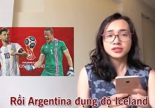 Vòng bảng World Cup sinh động và hấp dẫn qua bản nhạc chế gây bão mạng