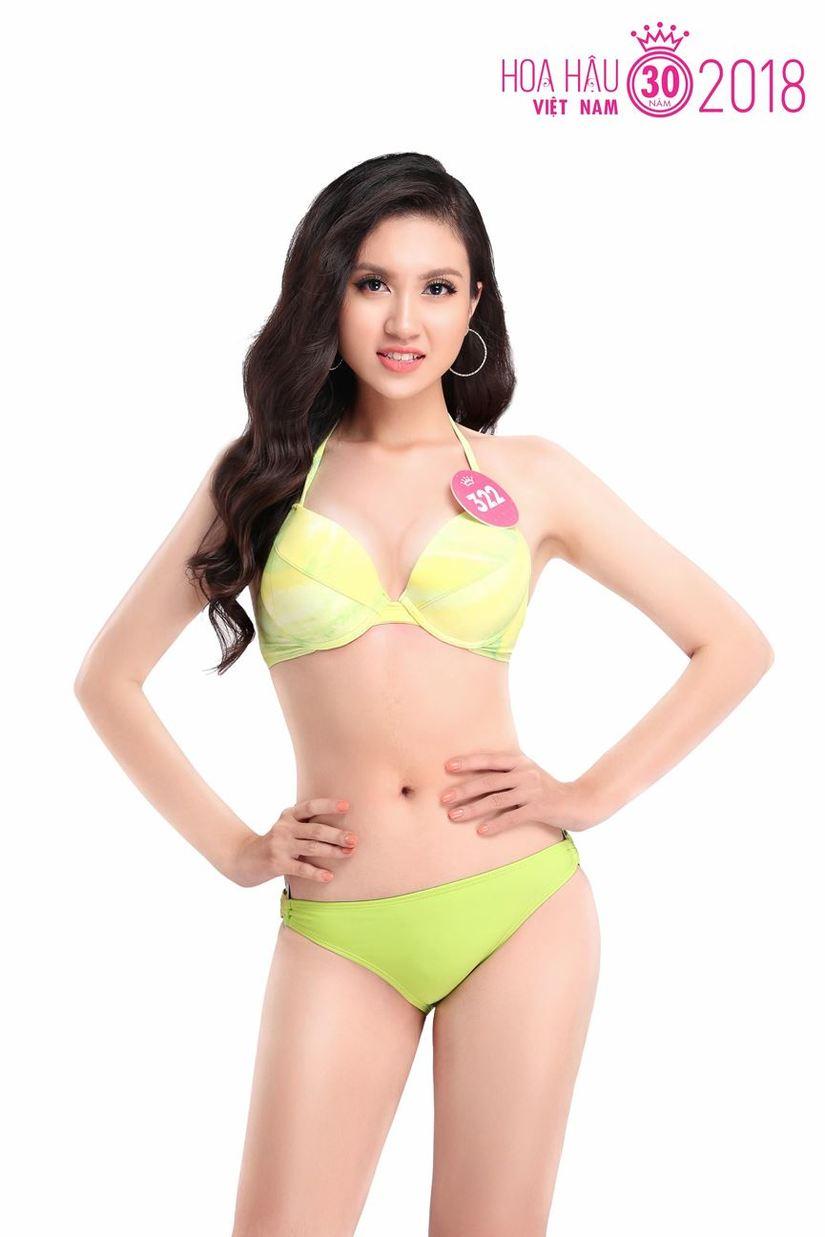 Cận cảnh vẻ nóng bỏng của 19 thí sinh vào chung kết Hoa hậu Việt Nam 2018