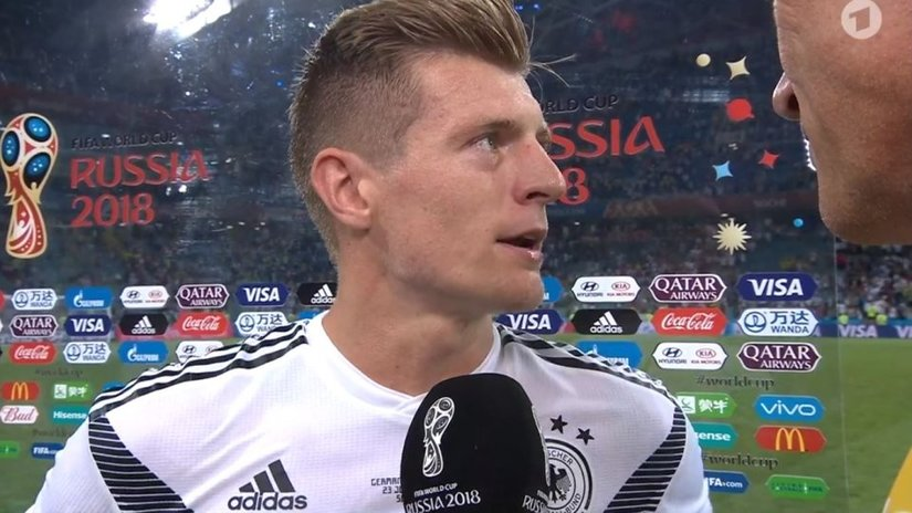 Kroos gây sốc khi chỉ trích người Đức