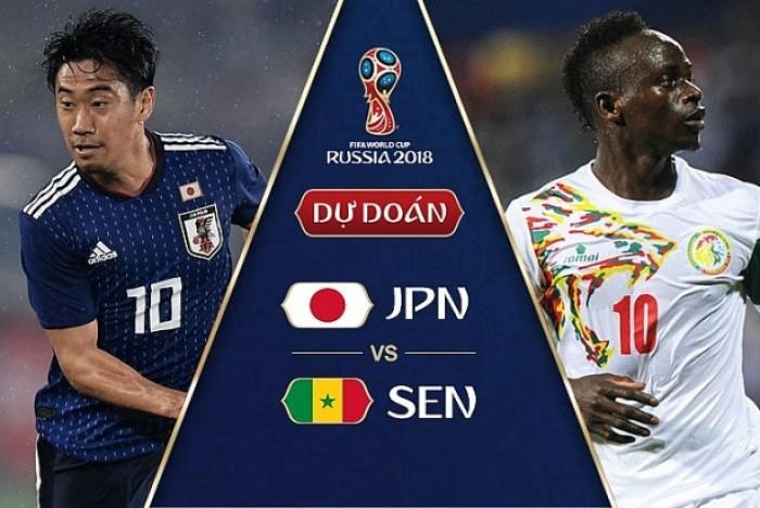 Dự đoán kết quả tỷ số World Cup 2018 giữa đội tuyển Nhật Bản và Senegal